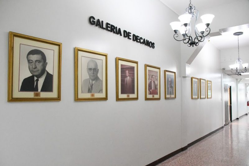 Galería de decanos de la Escuela de Derecho de la PUCPR