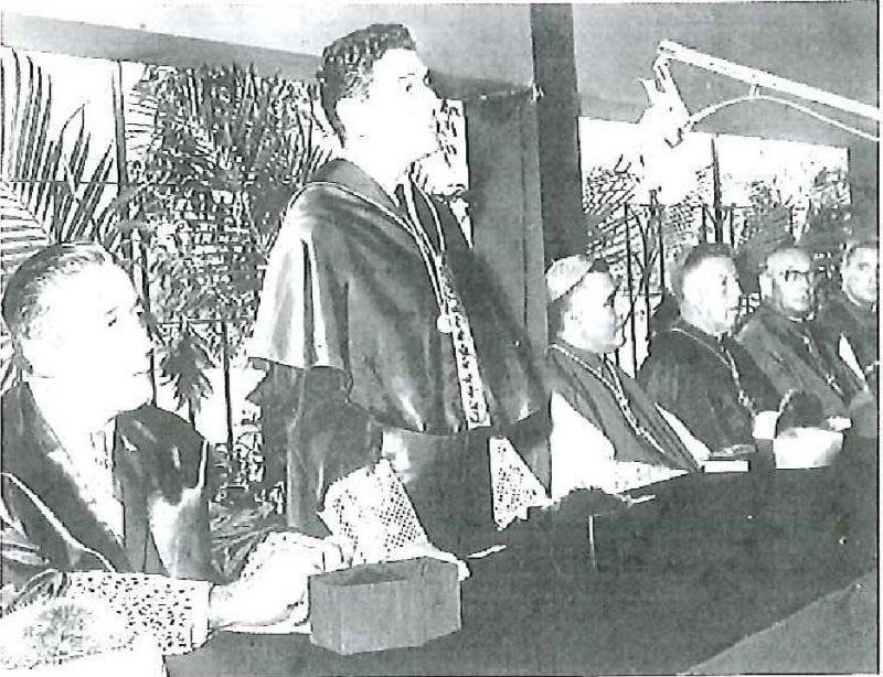 Mesa Presidencial, Acto Inaugural (23 de agosto de 1961)